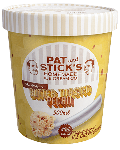Butter Toasted Pecan Tub - Pat and Stick's